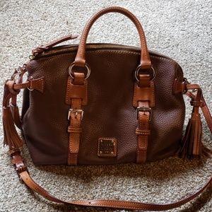 Dooney & Bourke Leatcher satchel